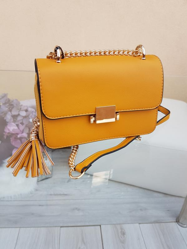 Crossbody kabelka - autumn YELLOW
