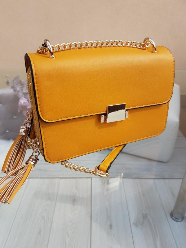 Yellow Crossbody kabelka